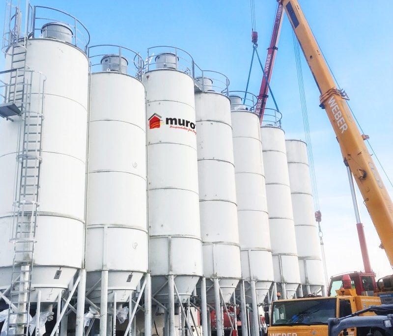neue silos bei muro in Sulzdorf