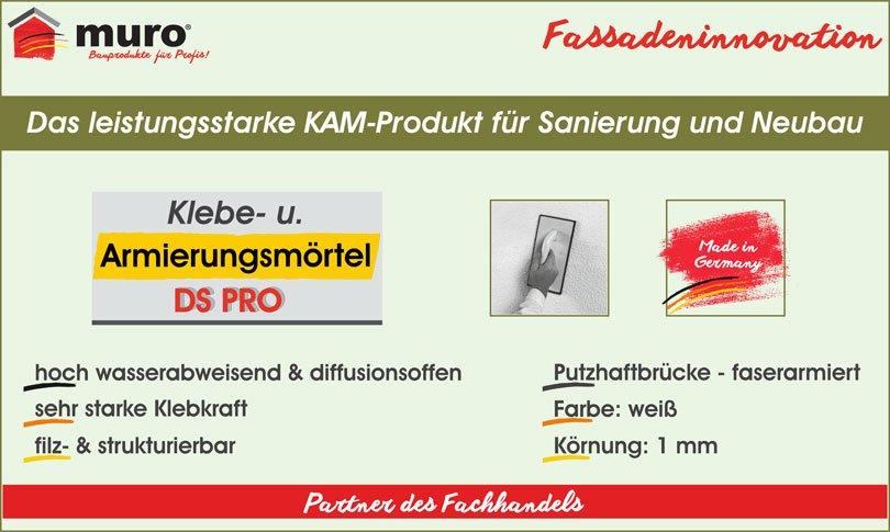 muroTherm Klebe- und Armierungsmörtel DS Pro